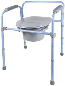 Carex 3-in-1 FoldingBedside Commode reviews and user guide