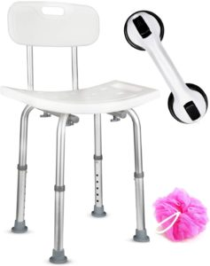 Dr.Maya Bath and Shower Chair Seat with Backreviews and user guide
