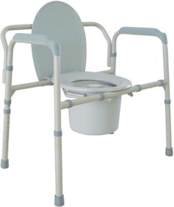 Drive Medical Heavy Duty Bariatric Folding Commode reviews and user guide