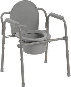Drive Medical Steel FoldingBedside Commode reviews and user guide