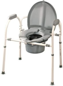 MedPro Comfort Plus Commode Chair reviews and user guide
