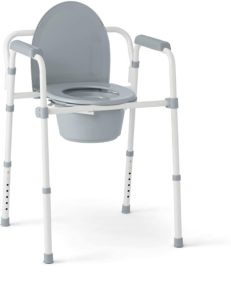 Medline 3-in-1 Steel FoldingBedside Commode Chairreviews and user guide