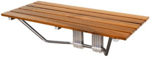 Best Choice Products Wall Mounted Folding Wood Shower Seat Bench reviews and user guide