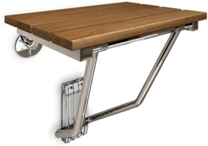 DreamLine Natural Teak Wood Folding Shower Seat reviews and user guide