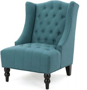 Christopher Knight Home Toddman High-Back Fabric Club Chair